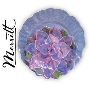 8-Piece Melamine Dish Set | Garden Flower